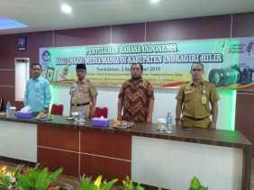Kepala Diskominfops Inhil Membuka Kegiatan Penyuluhan Bahasa Indonesia Bagi (Insan) Media Massa