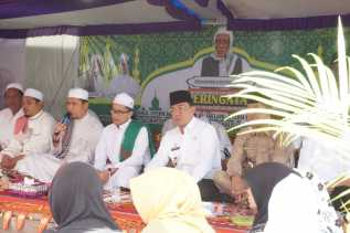 Bupati Inhil Hadiri Haul Sultani Aulia Syekh Abdul Qadir Al - Jaelani