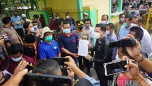 Ketua DPRD dr Riski Ramadhan Tampung Aspirasi Massa POKTAN PEMA Bandar Khalipah