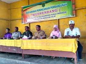 Desa Tanjung Lajau Gelar Musrenbangdes Tahun 2017