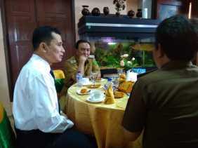 Sambut Kedatangan Kepala BPKP Riau, Bupati Inhil Adakan Coffee Morning Di Kediaman Dinas