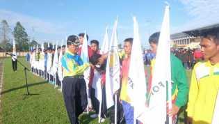 Bupati Inhil Kukuhkan kontingen Porprov Riau Utusan Indragiri Hilir