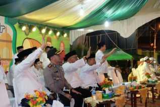 Pawai Takbir di Inhil Disaksikan Ribuan Masyarakat