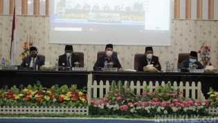 Ketua DPRD Sergai Pimpin Rapat Paripurna Penyampaian Nota Pengantar Ranperda RPJMD 2021-2026