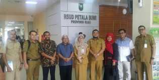 Direktur RSUD PH Tembilahan Kunjungi RSUD Petala Bumi Provinsi Riau