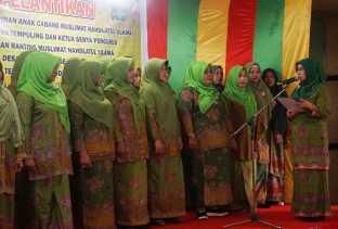 Zulaikha Wardan Lantik PAC Dan Ranting Muslimat NU Tempuling