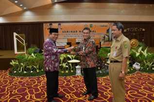 BRK Undang Ketua BPK RI Gelar Seminar Nasional Tata Kelola BUMD