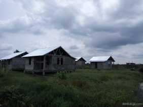 Program Transmigrasi di Desa Tanjung Melayu Sudah Tahap Finishing