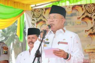 Bupati Soekirman Hadiri Pawai Ta'aruf dan Pelantikan Dewan Hakim  MTQ XVI