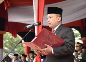 HUT RI Ke - 73, Ketua DPRD Inhil Ajak Masyarakat Pahami Cita - Cita Kemerdekaan