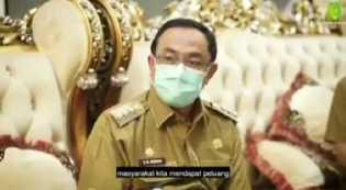 Bupati HM Wardan Sampaikan Komitmen dalam Program JKN-BPJS Kesehatan