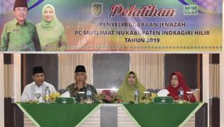 PC Muslimat NU Inhil Gelar Pelatihan Penyelenggaraan Jenazah