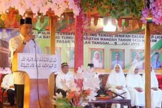 SU Beri Arahan Jema'ah Calon Haji Desa Batang Tumu, Mandah