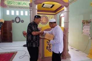 Sekaligus Pantau Pembangunan,  Wabup Inhil Safari Ramadan ke Kecamatan Kateman