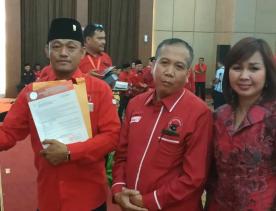 Samino Bakal Pimpin DPC PDI-P Kabupaten Inhil
