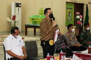 Ketua DPRD Sergai Dukung PTM dan Apresiasi Satgas Covid-19 di Satdik