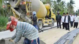 Proyek Preservasi Jalan Nasional Di Inhil Akan Segera Dilelang