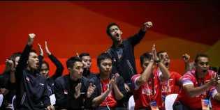 Libas Malaysia, Tim Putra Indonesia Juara Kejuaraan Badminton Asia