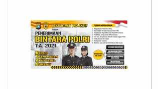 GRATIS!  Polres Inhil Buka Rekrutmen Bintara Polisi 2021