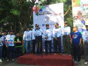 Bupati Inhil Hadiri Peringatan HUT BPR - BPRS Nasional Tahun 2019