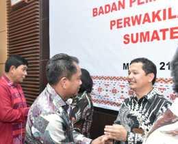 Wabup Darma Wijaya Hadiri Sertijab Kepala BPK RI Perwakilan Sumut