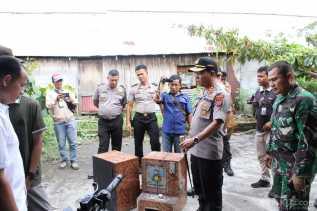 Kapolres AKBP Robin Simatupang Pimpin Langsung Gerebek Lokasi Judi Jackpot