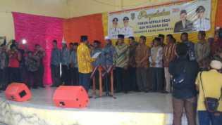 HM Wardan Kukuhkan Forum Kepala Desa dan Relawan GAS