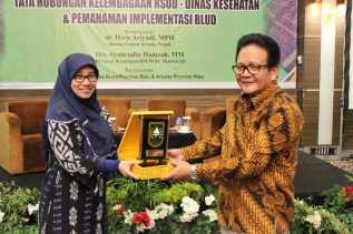 RSUD Petala Bumi & ARSADA Riau Taja Forum Diskusi