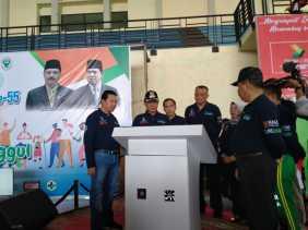 Hadiri Puncak HKN, Bupati Wardan Apresiasi Dinkes Inhil Dalam Penanganan Stunting