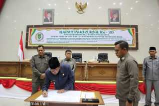 DPRD dan Pemkab Inhil Sepakati KUA PPAS RAPBD 2020