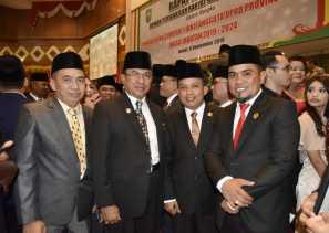 Bupati Inhil Hadiri Pelantikan Dan Pengambilan Sumpah Anggota DPRD Riau Periode 2019-2024