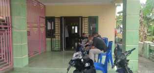Tipikor Satreskrim Polres dan Inspektorat Datangi Kantor Desa Pasar Baru