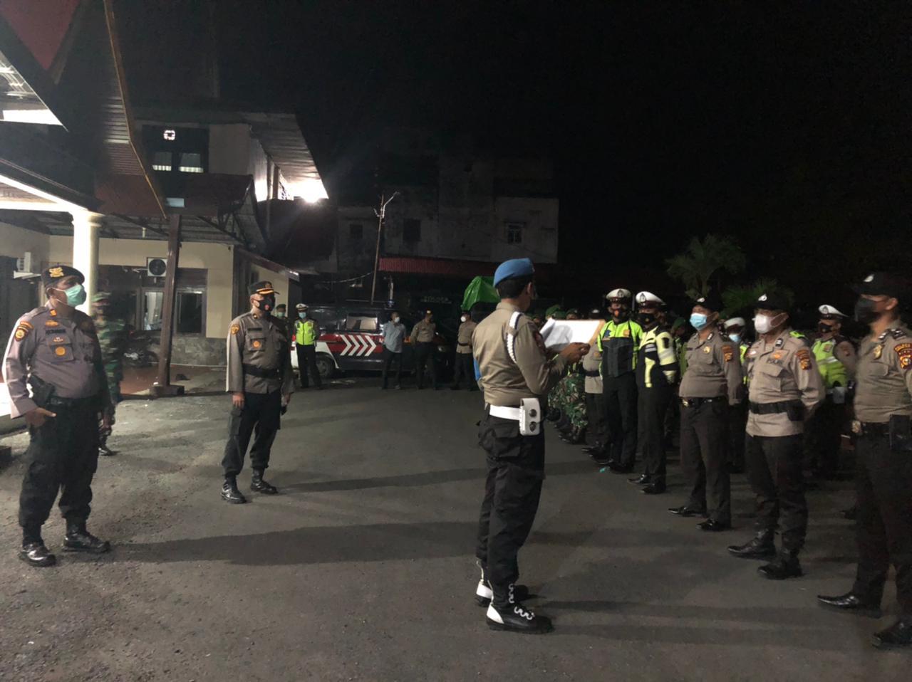 TNI Polri Gelar Razia Gabungan di Kota Tembilahan, Ini Sasarannya