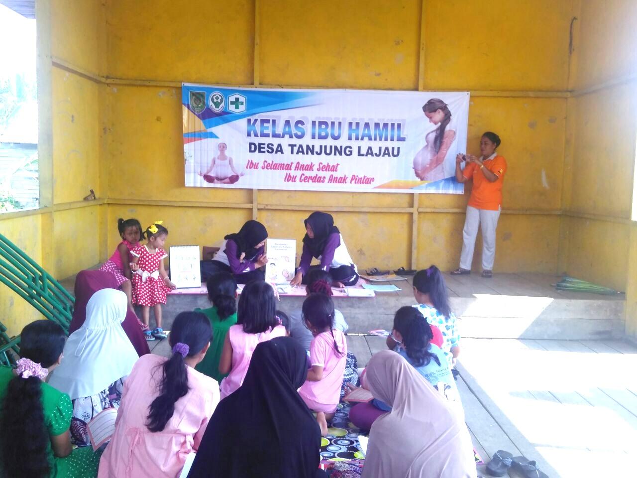 Ibu-ibu Hamil di Desa Tanjung Lajau, Kuindra Dapat Penyuluhan