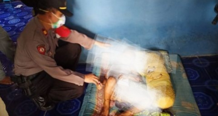 Naas, Gegara Main Hand Sanitizer, Tubuh Bocah Ini Terbakar