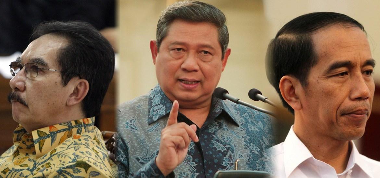 Mengenai Kicauan Antasari, SBY Salahkan Jokowi