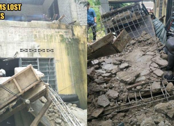 Tubuh Wanita Hamil Hancur Ditimpa Bangunan Rubuh, Suami Tewas Saat Menyelamatkannya