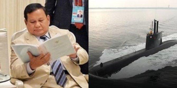 Menhan Prabowo Siap Belikan 3 Kapal Selam Baru Buat TNI AL, Sudah Lakukan Uji Coba