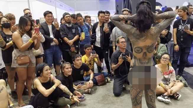 Malaysia Geger, Festival Tato Suguhkan Model Telanjang