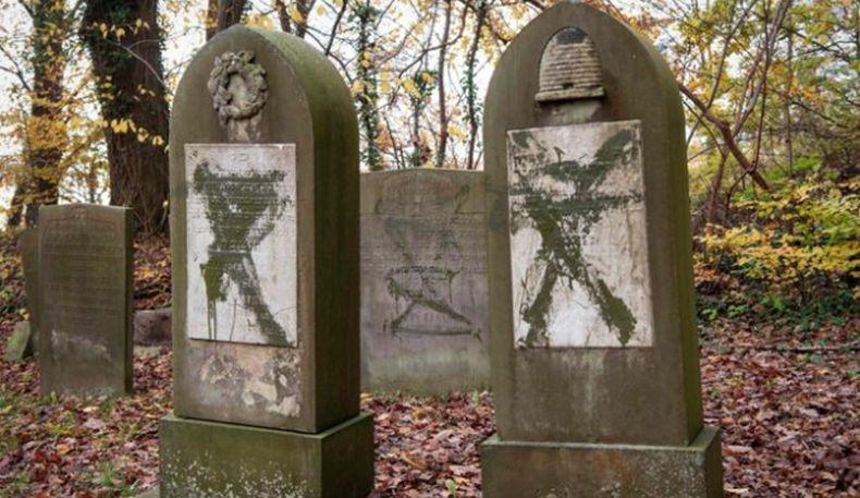 Pelaku Perusakan Puluhan Makam Tua Yahudi Ternyata Kelompok Neo Nazi
