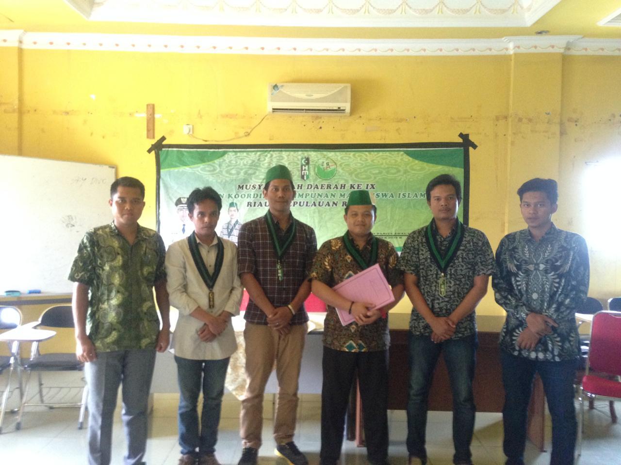 Suparjo Pimpin HMI Badko Riau-Kepri Periode 2018 - 2020