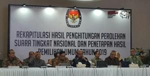 Rekapitulasi Surat Suara Nasional Mulai Dari Provinsi Bali