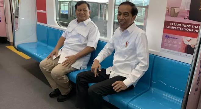 Jokowi-Prabowo: Tidak Ada Lagi Cebong Kampret, Semuanya Merah Putih