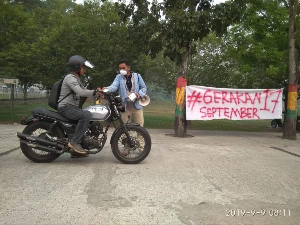 Kabut Asap di Pekanbaru, Mahasiswa UNRI Galakkan Gerakan 17 September