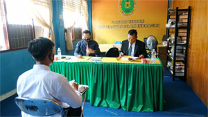 Terapkan Protokol Kesehatan, Fekon UNISI Gelar Seminar Proposal