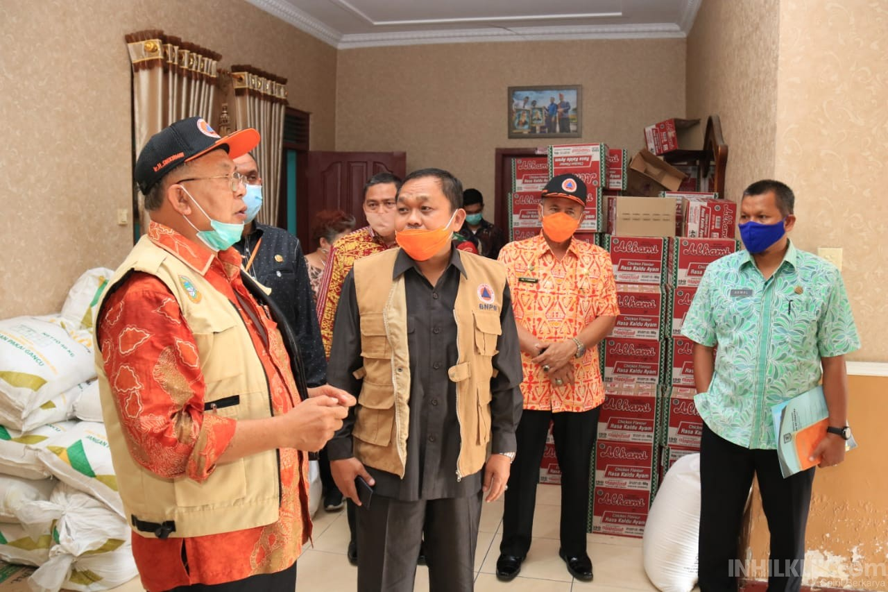 LO BNPB Pusat Kunjungi Posko Gugus Tugas Kabupaten Sergai