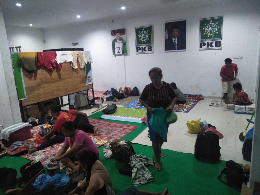 PKB Siapakan Tempat Istirahat untuk Rastusan Petani Tanjung Morowa