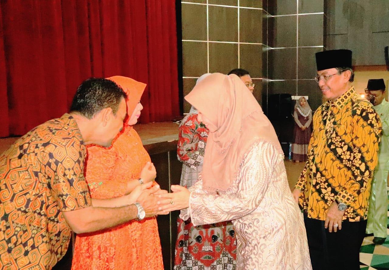 Bupati Inhil Hadiri Pisah Sambut Ketua Pengadilan Negeri Tembilahan