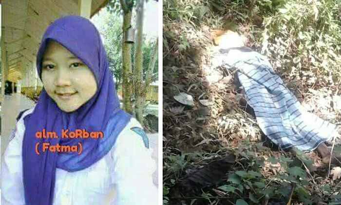 Siswi SMP Ini Diperkosa dan Dibunuh oleh Abang Kandung Sendiri