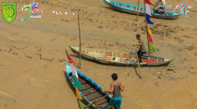 Pestival Sampan Leper, Salah Satu Destinasi Wisata Inhil